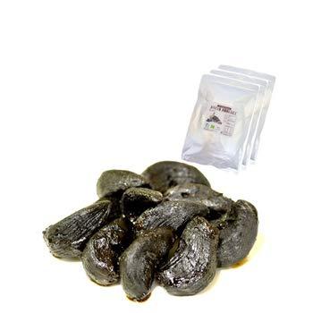 ソーキ スペインの黒にんにく 皮なし 500g(有機栽培)