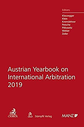 Austrian Yearbook on International Arbitration 2019