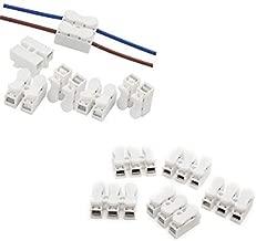 CH2 CH3 Cable de resorte Conector r/ápido Cable el/éctrico Terminal de abrazadera Cable autoblocante Luz de tira LED Cable de 3 posiciones 3 posiciones Conexi/ón de 100 piezas