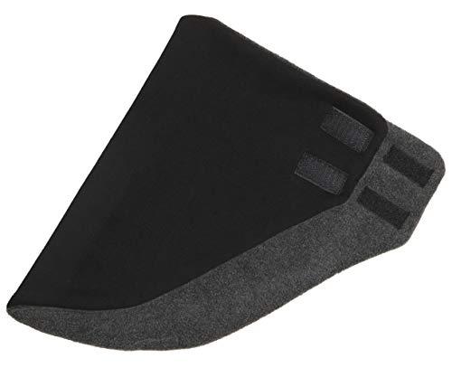 Hilltop Design - Bandana/Dreieckhalstuch/Halstuch mit Fleece, Farbe/Design:Schwarz uni