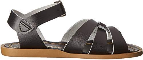 Price comparison product image Salt Water Sandals by Hoy Shoe Original Sandal (Toddler / Little Kid / Big Kid / Women's),  Black