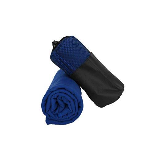 Green HX Toalla Antideslizante Toalla De Playa De Microfibra 2020 Adultos Secado Rápido Viajes Deportes Hotel Piscina Campamento Baño Estera De Yoga Secador De Pelo Tela Cuadrada-Royal Blue