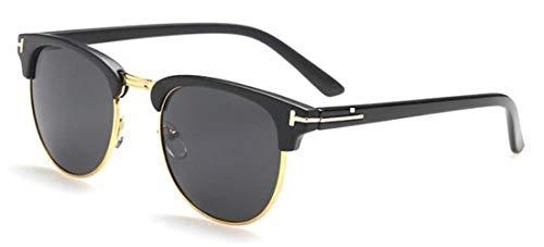 WHAELI James Bond Sonnenbrillen Herren Sonnenbrillen Damen Super Star Celebrity Driving Sonnenbrillen Tom für Herren Brillen matt schwarz v grau