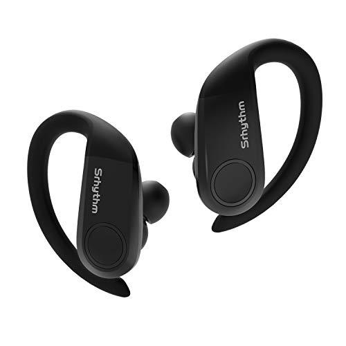 Auriculares Inalambricos Deporte, TWS Bluetooth 5.0 Auriculares Control Táctil Estéreo HiFi Graves Profundos, Aptx Srhythm S2 Impermeable In-Ear Auriculares CVC8.0