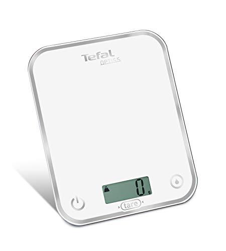 Tefal BC5000V1 Balance de Cuisine Électronique Optiss 5kg/1g Fonction...