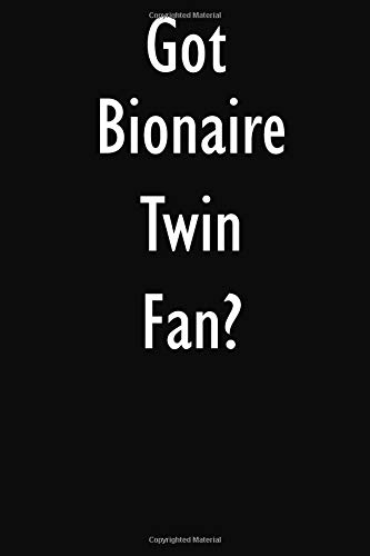 Got Bionaire Twin Fan?: Bionaire Twin Fan Diary Journal