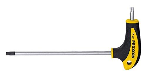 Proxxon 22 450 Destornilladores Torx de Mango en L, TX/TTX 25 x 160/20 mm