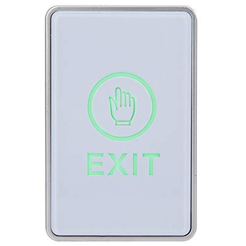 Sistema de Control de Acceso Botón de Salida con luz LED, desbloqueo Botón de Salida Interruptores Sistema de Control de Acceso de la Puerta
