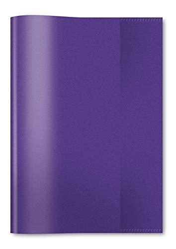 HERMA 7486 - Fundas para cuadernos (DIN A5, 25 unidades), color morado