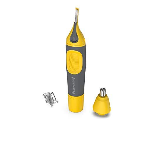 Remington Remington Virtually Indestructible Nose, Ear & Brow Trimmer, Yellow, NE3871