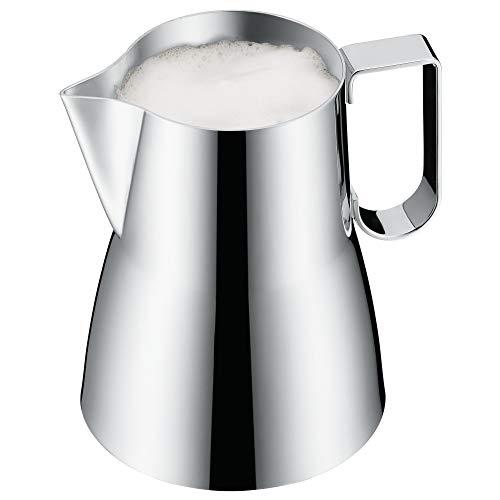 WMF Barista Krug für Milchschaum, 600 ml, Cromargan Edelstahl poliert, Milchschaumkrug, spülmaschinengeeignet