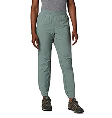 Columbia Women's Sandy River Pant, Light Lichen, Small x Regular