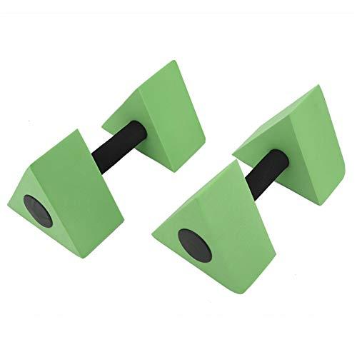 Qqmora Entrenamiento de Fuerza Barbell Respetuoso del Medio Ambiente 2PCS Niños Natación Equipo de Gimnasia(Green)
