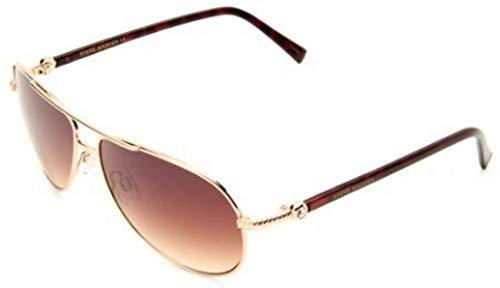 Steve Madden Women's S5187 GLD Aviator Sunglasses