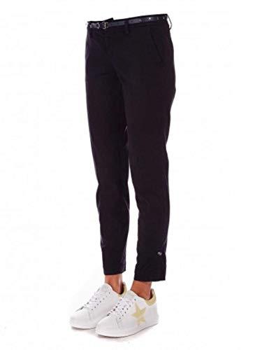Liu Jo Jeans liujo Pantalone Chino FA0235TM140-1 22222 Nero, 32