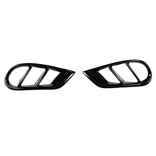 ACAMPTAR Lufteinlassstutzen schwarz glänzend für Mercedes W205 C-Klasse C43 AMG Lufteinlassstutzen