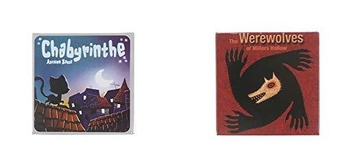 Tarot Cartas 2lots Familia Divertido Juego De Mesa De Entretenimiento Hombre Lobo Y Gato Tarot Tarjeta Deck Juego De Mesa Inglés Fun Deck Playing Cards Caja De Regalo