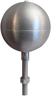 Eder Flag Flagpole ball top ornament 3 Inch Aluminum Satin Finish