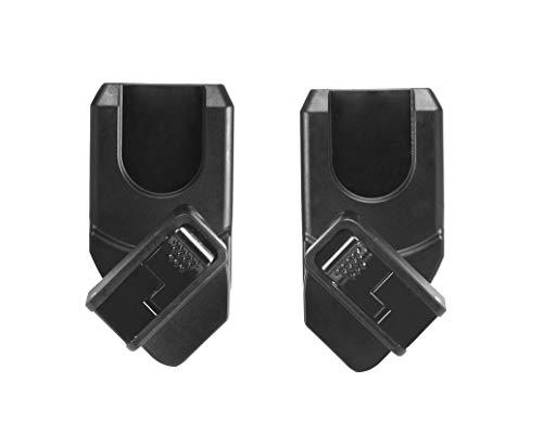 Maclaren Adaptador de asiento de automóvil XLR para Maxi Cosi y Cybex, el adaptador encaja en la base de la silla de paseo arc Techno XLR y el mecanismo de bloqueo del asiento del automóvil