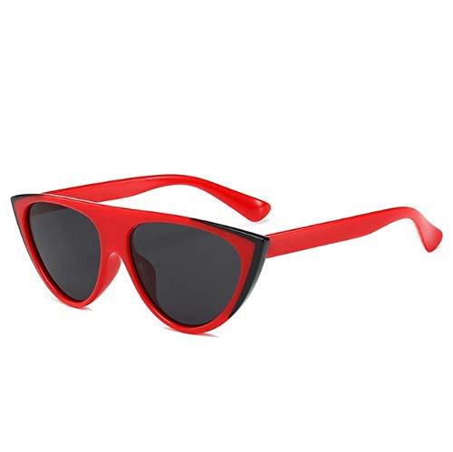 ZZZXX Gafas De Sol RetroOjo De Gato Personalizado Colorido Correr, Andar En Bicicleta,Protección Uv400, Varios Colores Disponibles,Con Caja De Regalo Y Paño Para Vasos