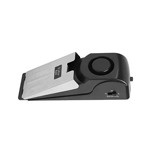 Tomanbery Portátil de Alarma de Seguridad antirrobo de Alerta de Controlador de sensibilidad de Parada de Puerta para el hogar