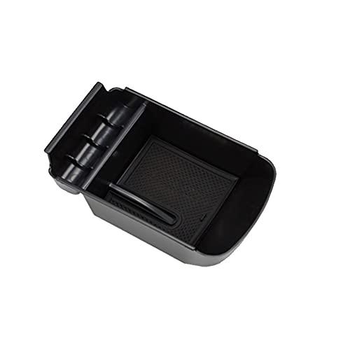 LZYY Apoyabrazos para Coche para Peugeot 308 308S 2016 2017 2018 2019 Caja de Almacenamiento de reposabrazos Bandeja de Compartimento de Coche contenedor Organizador Caja de reposabrazos de Coche