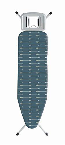 Vinsani Funda moderna para tabla de planchar de 100% algodón con banda elástica 52 x 140 cm Las flechas