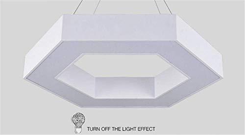JIEER-C Ergonomische stoel hanglamp LED bureaulamp kroonluchter acryl hanglamp eetkamer slaapkamer woonkamer B Ja
