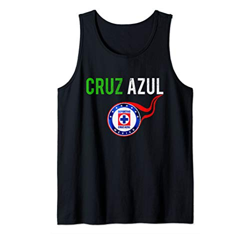 Cruz Azul Mexican Soccer Team Tank Top