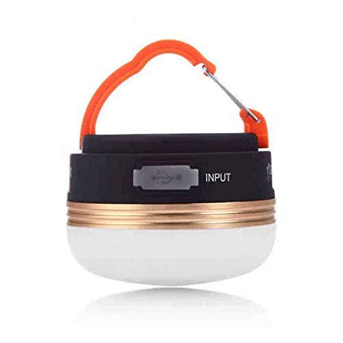 Kinshops Camping Light LED Emergency Mountain Camping Light Signal Multifonctionnel Lampe de Sauvetage ABS avec Aimant