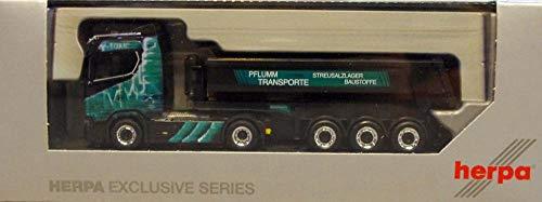 Herpa 936774 Scania CS ND Rundmulden-Sattelzug Pflumm Transporte