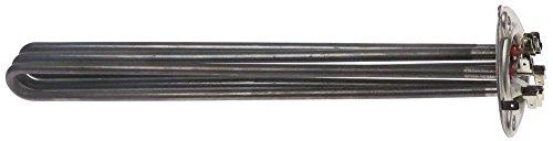 Heizkörper für Spülmaschine Hobart FX, GX, AMX, AUXXT, ECOMAX-602-11, AUXX, Cookmax 813003, 813004 für Boiler 1 Thermostathülsen
