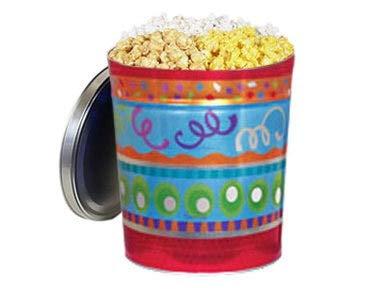 Fantastic Deal! Gourmet Popcorn Gift Tin - Fiesta, 3-Way Popcorn Mix