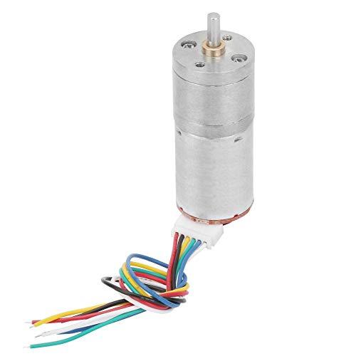 Motor de engranaje de gusano de DC, caja de engranajes de gusano conveniente de la estructura simple para la impresora (velocidad 50)