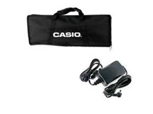 Borsa Custodia Casio in tela per SA 46 SA47 SA76 SA77 + Alimentatore Casio AD-E95100LG