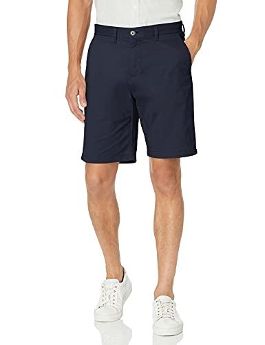 Tommy Hilfiger Men's Casual Stretch Chino Shorts, Navy Blazer, 34