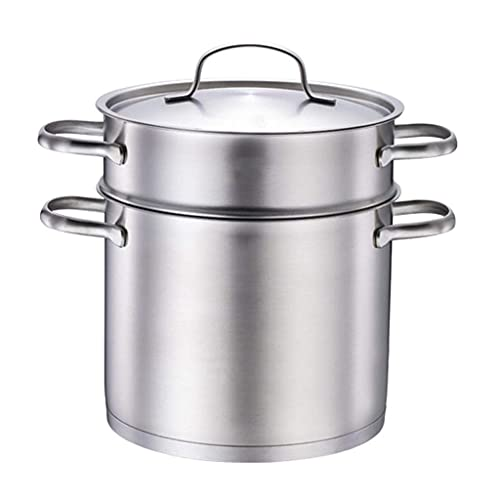 Stew Pot Saucepan Large Stainless Steel Stock Pot Quart With Lid Stock Pot With Lid Heavy Soup Pot Porridge Pot Large Cooking Pot With Lid Healthy Nutrition Cookware Induction Pot