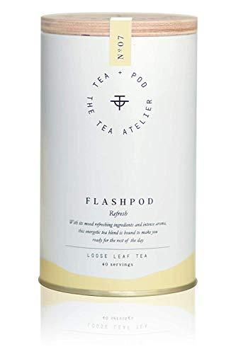 NO.07 FLASHPOD - Schwarzer Tee mit Zitrone - 100 g - Eistee - Lose Teeblätter | by Teapod Atelier