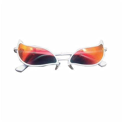 Lsdnlx Gafas de Sol, Gafas de Cosplay de Doflamingo de una Pieza, Gafas de Sol de PVC de Anime, Divertido