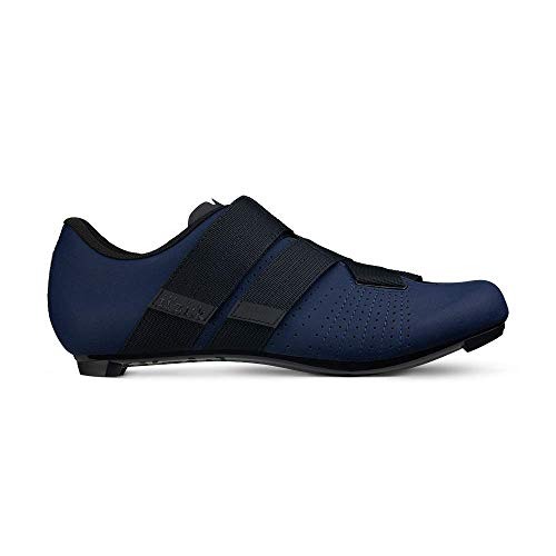 Fizik Tempo R5 Powerstrap Cycling Shoe, Navy/Black - 42, Navy/Black