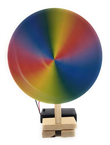 StepsToDo motorized newton disk | school science project | science activity kit (Multicolour)