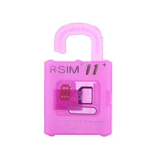 ningxiao586 R-SIM12 Compatible avec pour XS Max//X//XS//XR Carte de d/éverrouillage Nano Carte RSIM SIM R-SIM 12 R 12 SIM 12 SIM 12 7//8//7//8 Plus