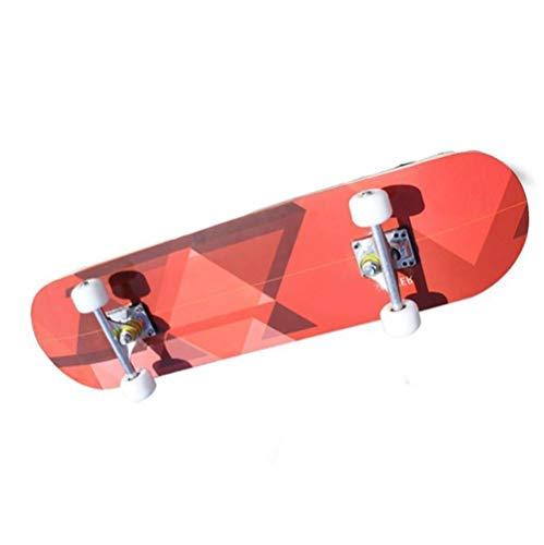 ZHNA Außen Skateboards, Complete Skateboard Cruisers, Lange Decks mit Konkav Feet, Geeignet for Jugendsport