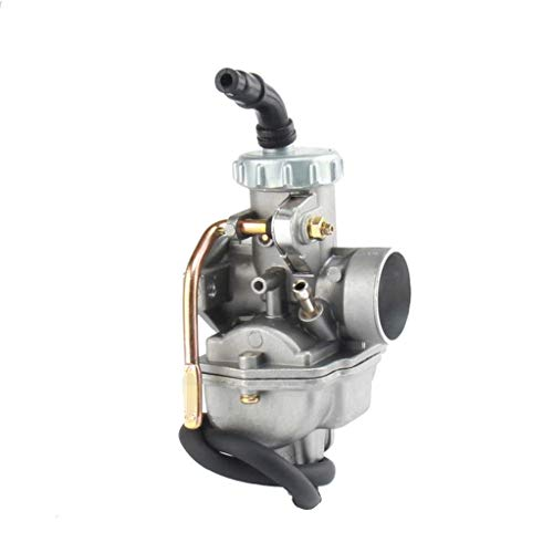 love lamp Carburador Aluminio Carb 22mm PZ22 carburador Compatible con Taotao SSR Orion 70cc 90cc 100cc 110cc 125cc Compatible con la Bicicleta de Tierra ATV Quad 4 Wheeler Go Karts Engine