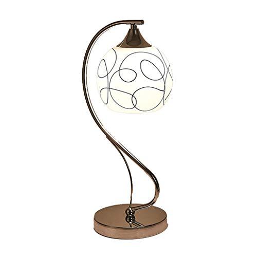 SHUTING2020 Lámpara de mesita de Noche Lámpara de Tabla de la Boda de Noche lámpara de Mesa Habitación Sala Cristal de la Oficina Moderna lámpara lámparas de Mesa para Sala