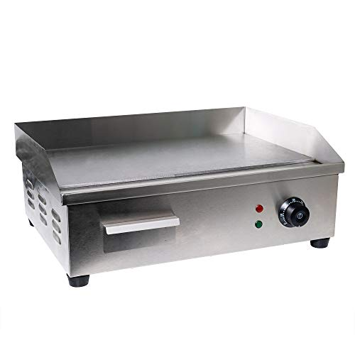 stainless griddle electric - 4