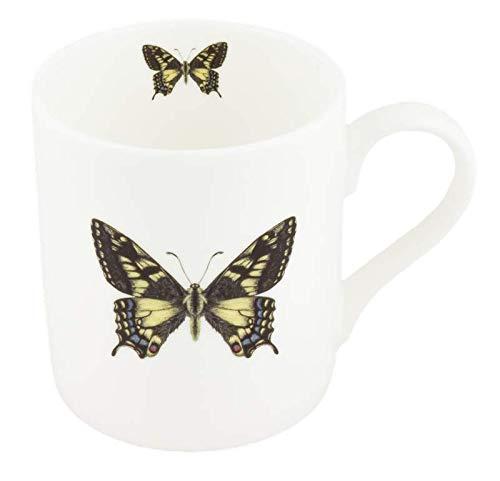 Tasse à thé en porcelaine anglaise Motif papillon