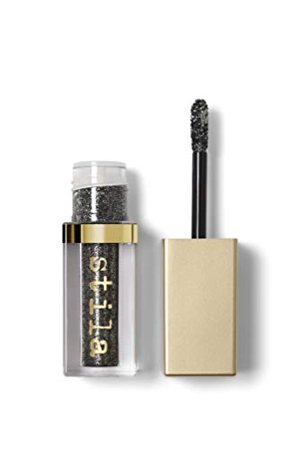 Stila Magnificent Metals Glitter & Glow Liquid Eye Shadow, Molten Midnight, Original