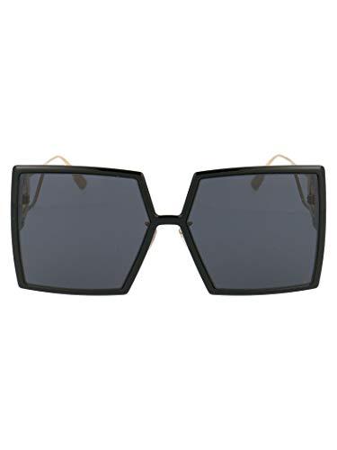 Dior Luxury Fashion Damen 30MONTAIGNE8072K Schwarz Acetat Sonnenbrille | Frühling Sommer 20