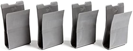 Haley Strategic Partners MP2 Magazine Pouch Insert 4-Pack, Disruptive Grey, MP2-MP2YPACK